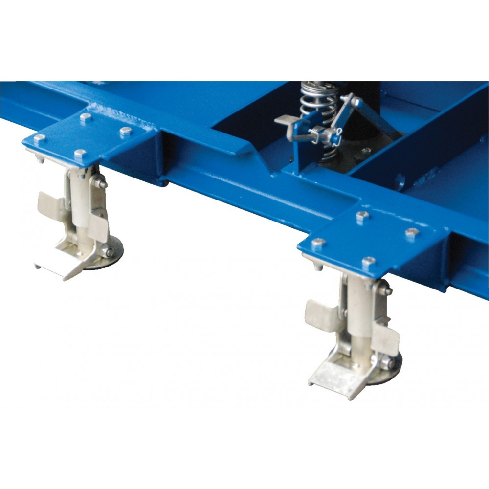 Vestil Long Deck Lift Table Carts