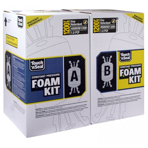 Touch N Seal CPDS 1200 Fire Retardant Two Component Foam Refill Kit