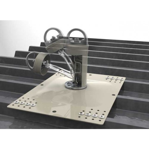 Miller Fusion Roof Anchor Post Fall Protection Anchor