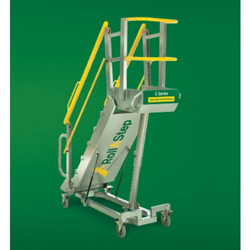 RollaStep Mobile 8 Step Self Leveling Stairs G-Series-G8